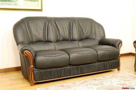 offerte divani pelle divani 3 e 2 posti con poltrona relax elettrica in pelle