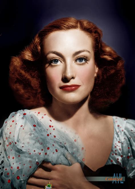i colorized colors for a bygone era colorized joan 1936