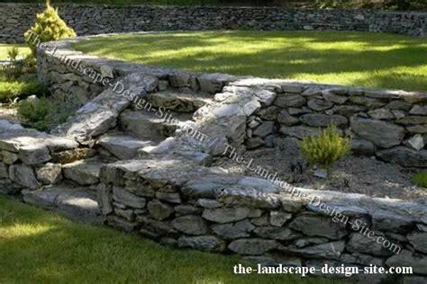 Rock Garden Wall Rock Walls Landscaping Ideas Pinterest