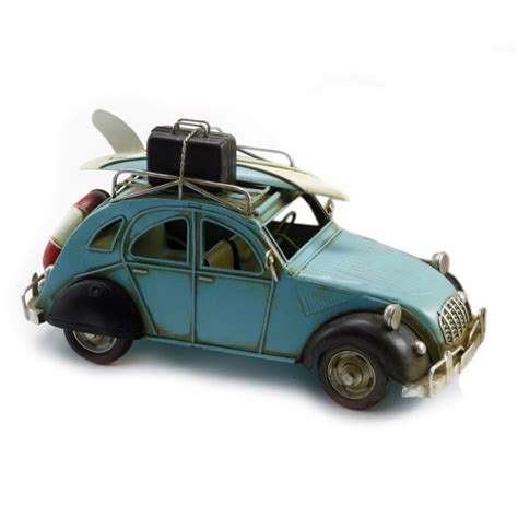 porte surf voiture voiture 2 cv surf bleu l 26 cm