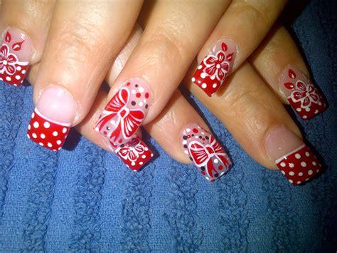 ver imagenes de uñas decoradas 2015 dise 209 o de u 209 as para navidad ibellizima
