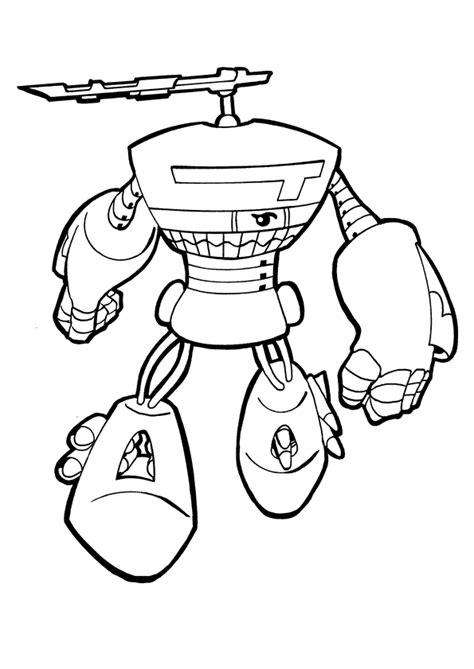 50 dessins de coloriage Tobot à imprimer