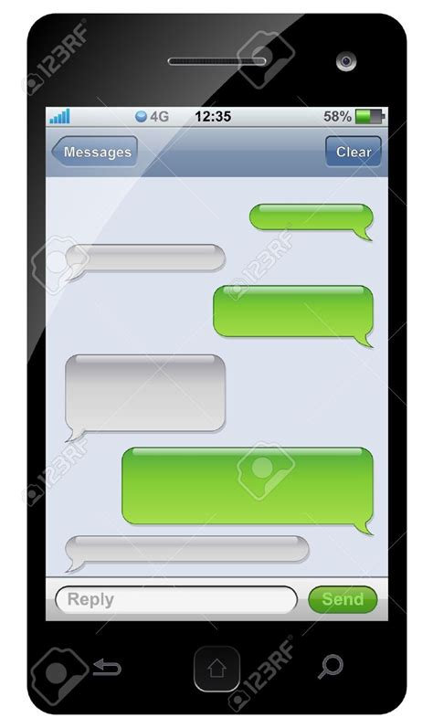 text message template iphone image gallery iphone blank text