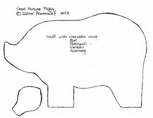 the pig ears template mortimer the pig be sure to cut four ears and two pig pieces