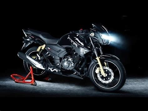tvs apache rtr 180 matte black edition launched ! youtube