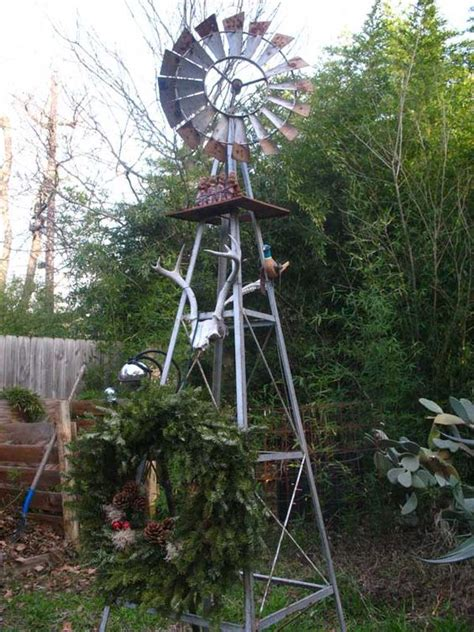 Windmills For The Garden A Garden Windmill I Heard That The Movements Of A
