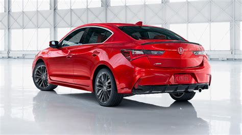 2019 acura ilx gets a sharper face standard safety tech