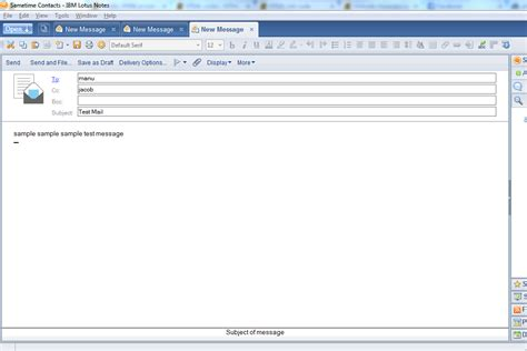 java tutorial kvr notes html create and preview new message in ibm lotus notes