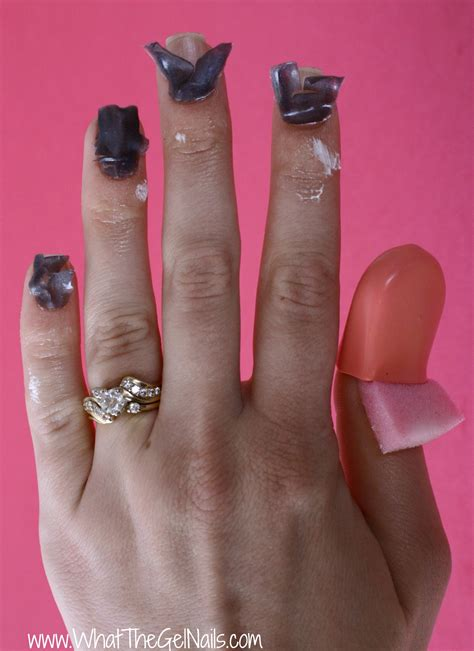 how to nail nail mates for gel removal