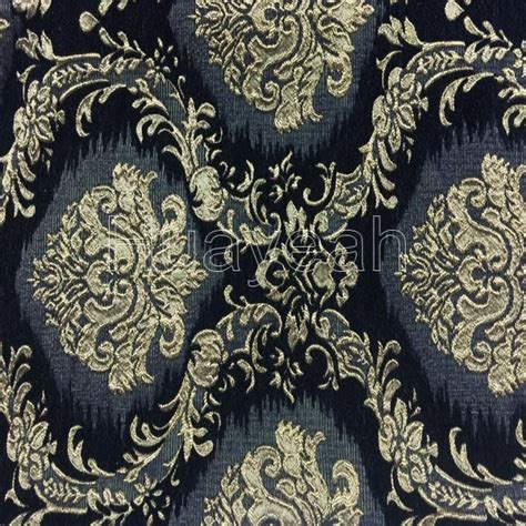 Black Chenille Upholstery Fabric by Jacquard Heavy Chenille Upholstery Fabric Wholesale