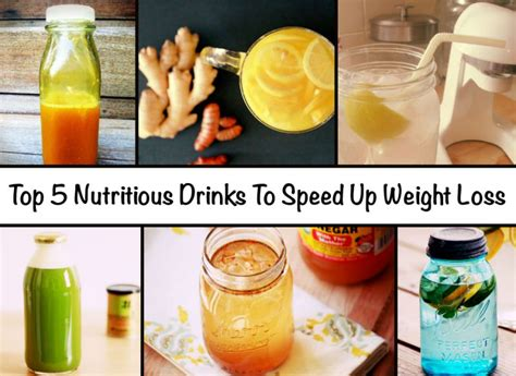5 weight loss drinks top 5 nutritious drinks to speed up weight loss