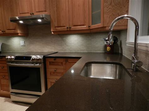kitchen backsplash with marble mosaic counter top with