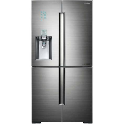 Samsung 4 Door Refrigerator by Samsung Stainless 34 Cu Ft 4 Door Bottom Freezer