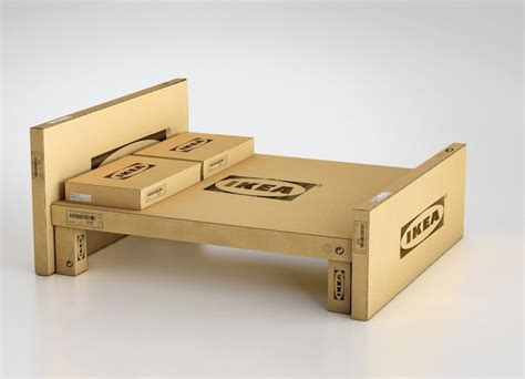 what is ikea furniture made out of ikea transforms its flat pack cardboard packaging into