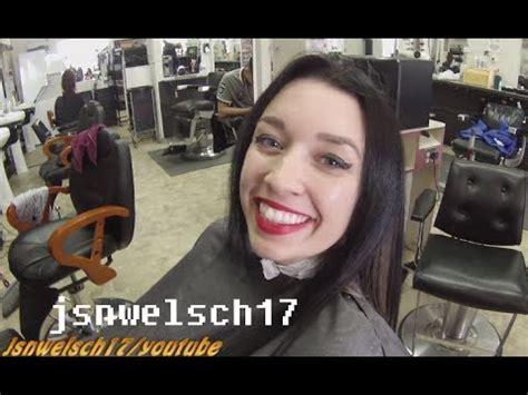 houston barbershops for womens hair womens scissor haircut how to trim women s long hair