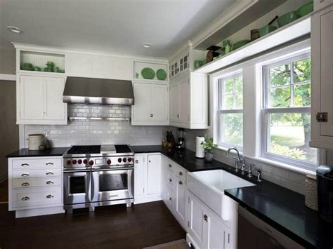Kitchen Cabinets White Paint Quicua Com Paint Color For Kitchen With White Cabinets