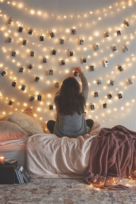 how to hang polaroid lights uo diy decorating with instax outfitters