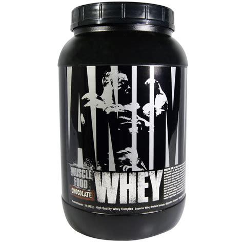 Whey Protein Universal Nutrition universal nutrition animal whey food chocolate 2 lb 907 g iherb