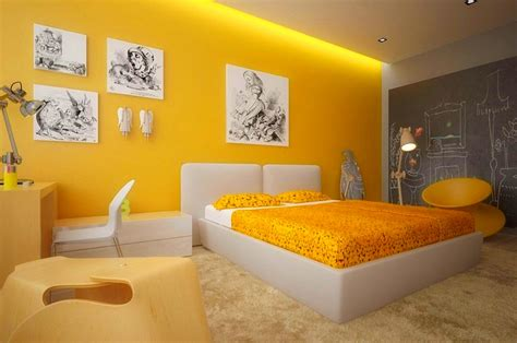 wall colours for bedroom combinations yellow and white bedroom paint combination
