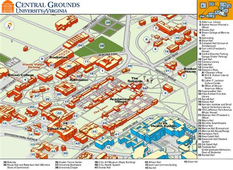 uva map maps