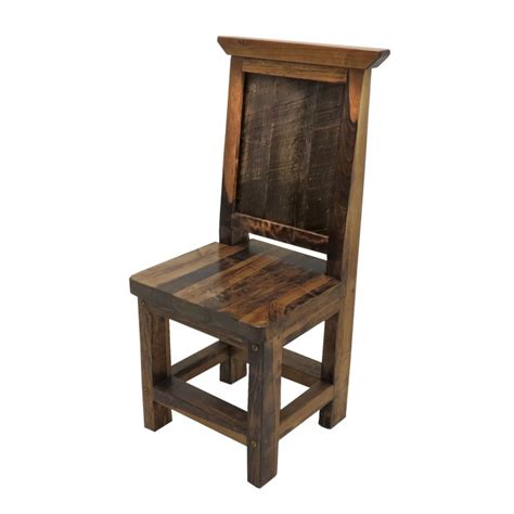 viking barnwood dining side chair