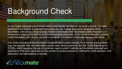 checkmate background check instant checkmate background check glossary