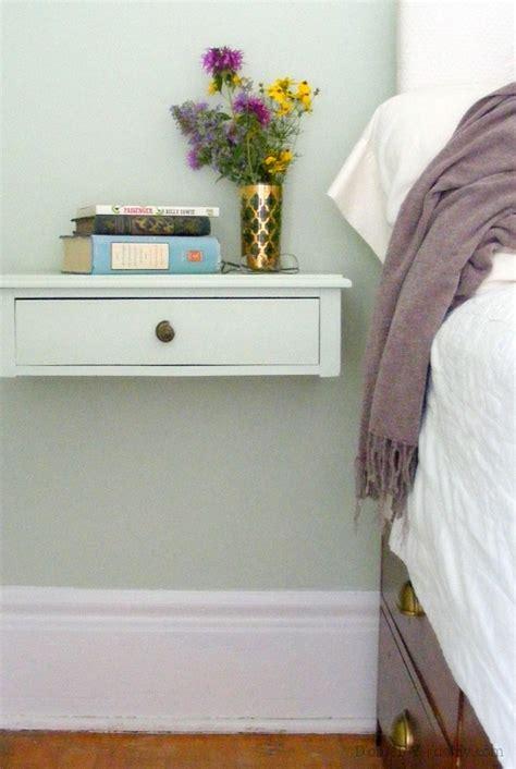 nachttisch wandbefestigung a wall mounted bedside table d oh i y