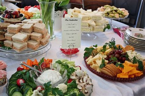 menu for bridal shower luncheon bridal shower menu wedding wednesday tea sandwiches