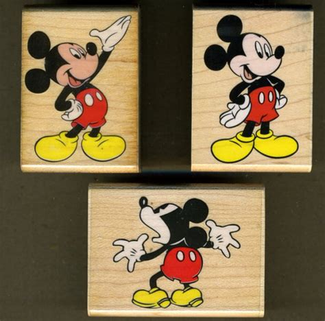 mickey mouse rubber st 3 mickey mouse rubber sts mickey mickey presents and