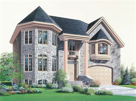 House Plans With Bay Windows by Apria Home Plan 032d 0695 House Plans And More