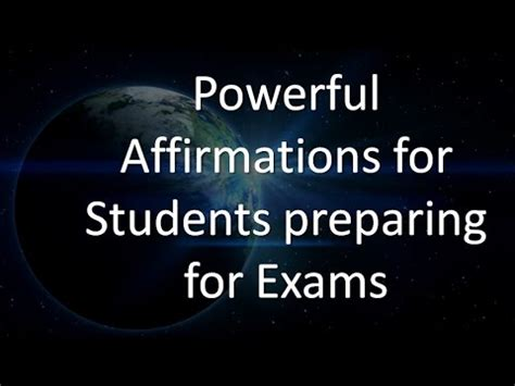 affirmations for exams powerful affirmations for