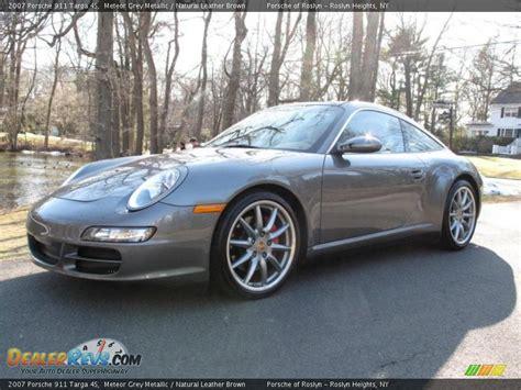 2007 porsche 911 targa 4s 2007 porsche 911 targa 4s meteor grey metallic