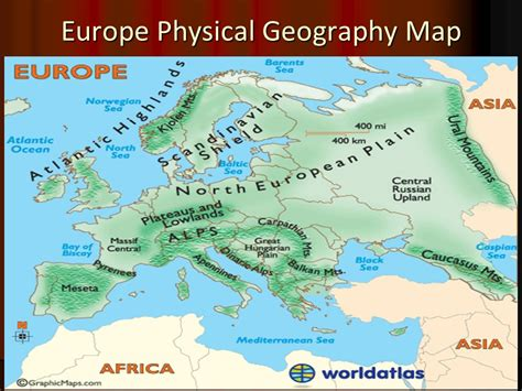 russia and europe physical map january 7 2014 agenda physical geography europe ppt