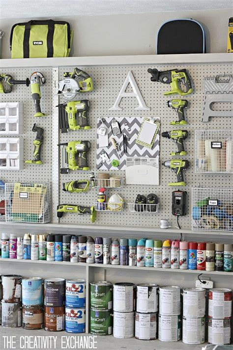 peg board ideas pegboard organization clean and scentsible