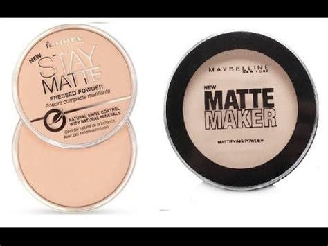 Maybelline Powder Matte maybelline matte maker vs rimmel stay matte powder review