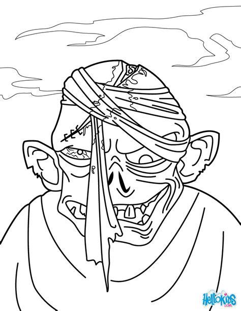 zombie head coloring page zombie head coloring pages hellokids com