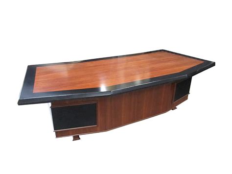 Executive Desks For Sale by Monteverdi Executive Desk With Leather