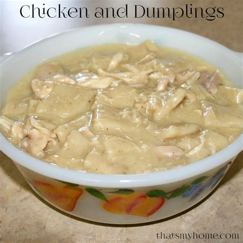 chicken and dumplings recipes food and cooking