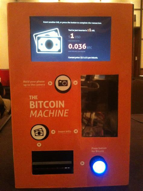 bitcoin machine activist post world s first bitcoin atm is announced