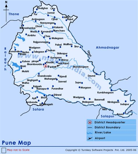 city map of pune pune map map of pune india