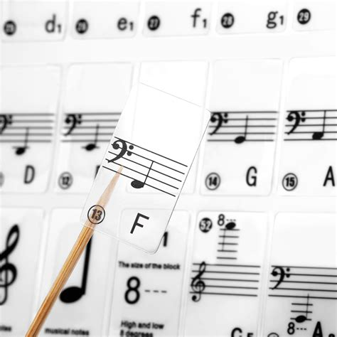 piano and keyboard note stickers neewer piano and keyboard note set stickers ebay