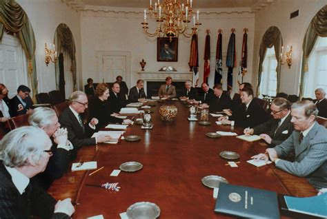 White House Cabinet by Margaret Thatcher On Socialism