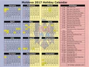 Moldova Calendã 2018 Moldova 2017 2018 Calendar
