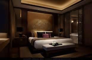 printed chinese silk headboard luxury bedding interior