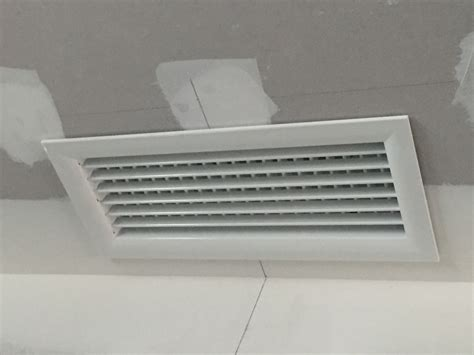Grille De Soufflage by Installation D Un Gainable