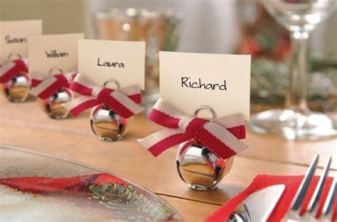 segnaposto a tavola segnaposti natalizi
