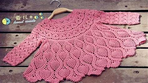 vestidos de tejido para nias imagenes realiza vestidos para ni 209 as y bebes tejidos a crochet en