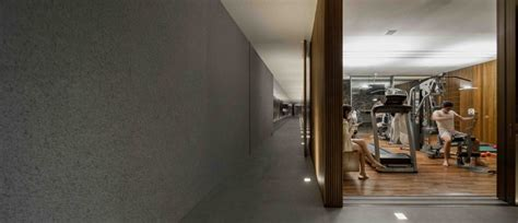 Minimalist Apartment Tour by Marcio Kogan S Casa Lee Concrete House Wood Clad Hall