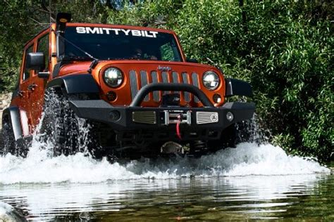 Jeep In River Smittybilt Atlas Front Bumpers 1 Best Price