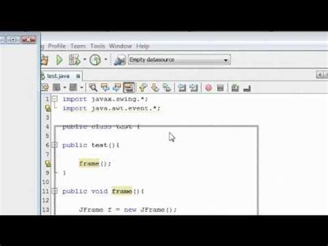 tutorial java listener java tutorial 13 adding action listener in java youtube